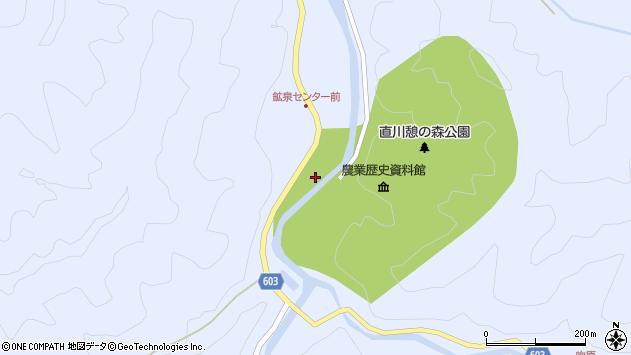 大分県佐伯市直川大字赤木1264周辺の地図