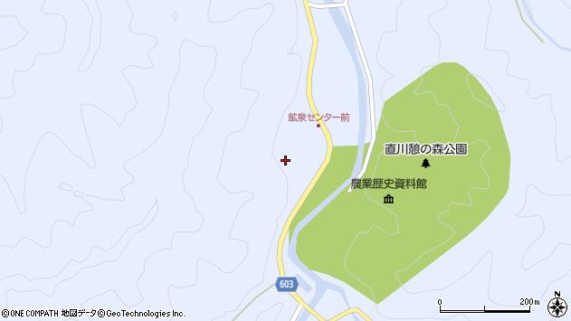 大分県佐伯市直川大字赤木中津留周辺の地図