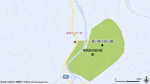 大分県佐伯市直川大字赤木1334周辺の地図