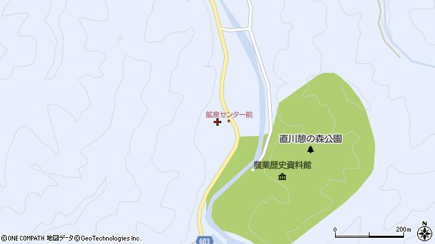 大分県佐伯市直川大字赤木1270周辺の地図