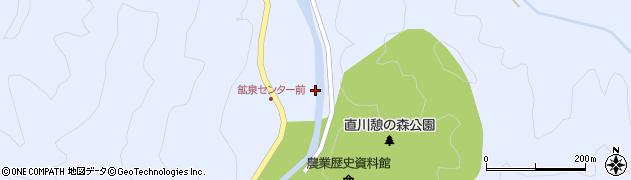 大分県佐伯市直川大字赤木1252周辺の地図