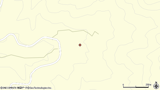 大分県竹田市神原1235周辺の地図