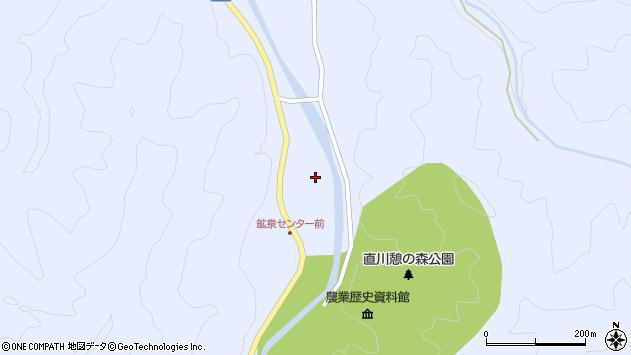 大分県佐伯市直川大字赤木1235周辺の地図