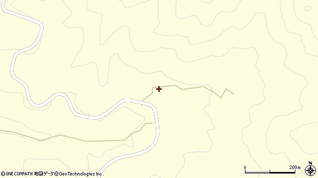 大分県竹田市神原1229周辺の地図