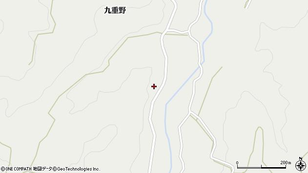 大分県竹田市九重野1510周辺の地図