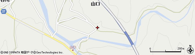 大分県佐伯市青山1167周辺の地図