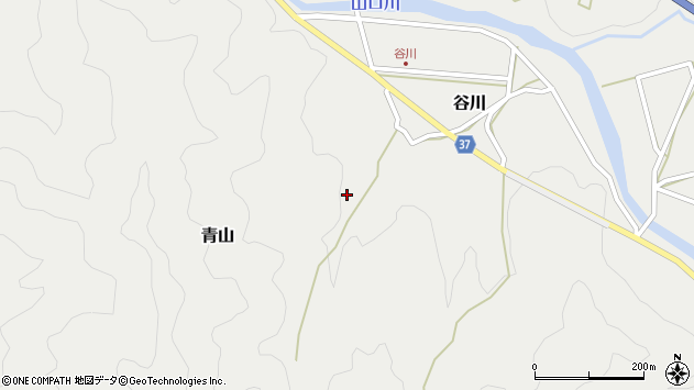 大分県佐伯市青山1879周辺の地図