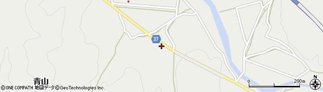 大分県佐伯市青山1735周辺の地図