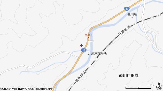 大分県佐伯市直川大字仁田原4007周辺の地図