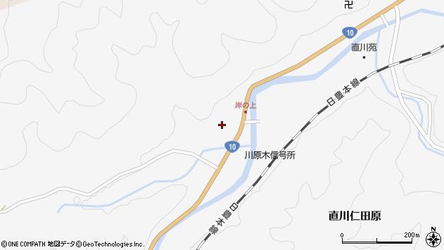 大分県佐伯市直川大字仁田原3994周辺の地図
