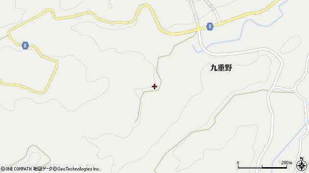 大分県竹田市九重野2347周辺の地図
