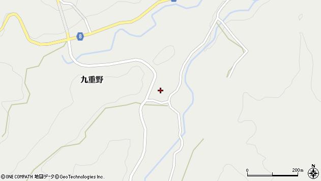 大分県竹田市九重野1570周辺の地図