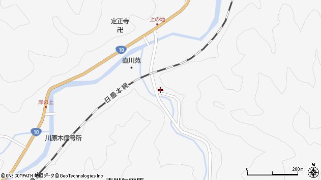 大分県佐伯市直川大字仁田原1180周辺の地図