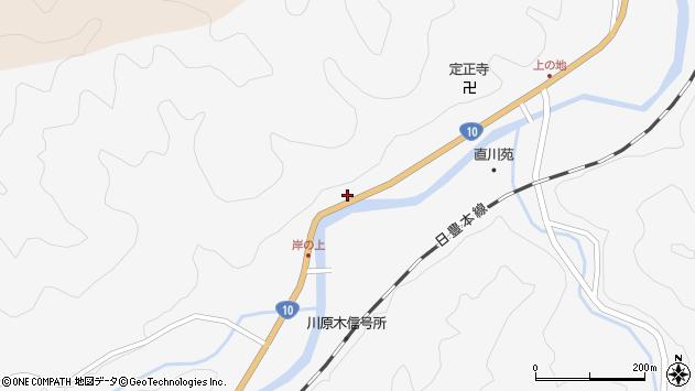 大分県佐伯市直川大字仁田原4033周辺の地図