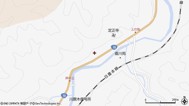 大分県佐伯市直川大字仁田原4071周辺の地図