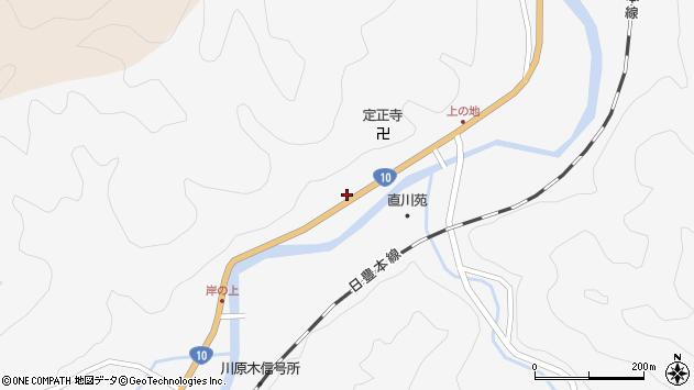 大分県佐伯市直川大字仁田原4052周辺の地図