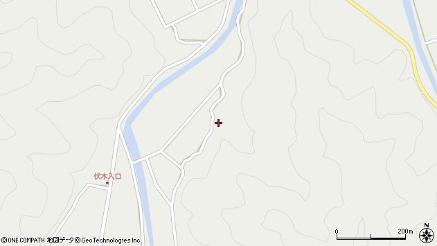 大分県佐伯市青山5270周辺の地図