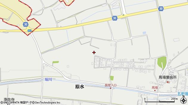 熊本県菊池郡菊陽町原水周辺の地図