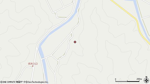 大分県佐伯市青山5355周辺の地図