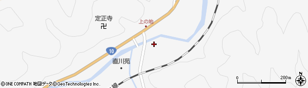 大分県佐伯市直川大字仁田原1158周辺の地図