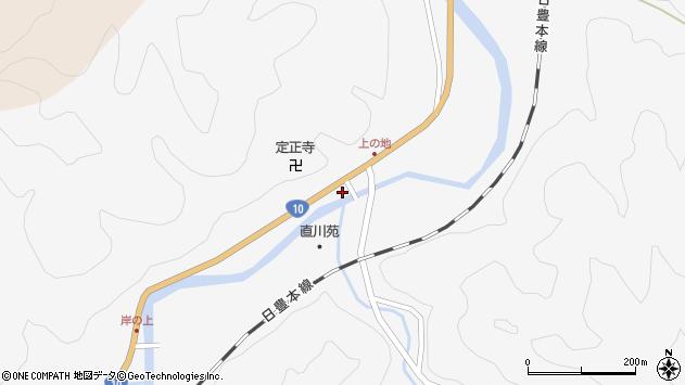 大分県佐伯市直川大字仁田原4058周辺の地図