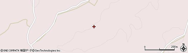 大分県竹田市中角665周辺の地図