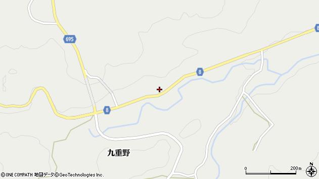 大分県竹田市九重野2165周辺の地図