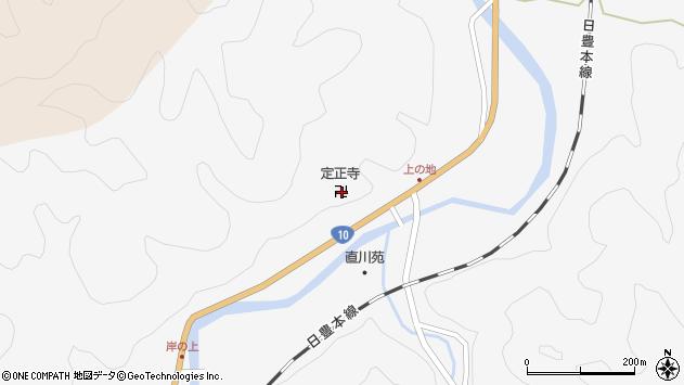 大分県佐伯市直川大字仁田原4097周辺の地図