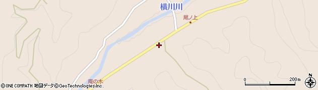 大分県佐伯市直川大字横川3602周辺の地図