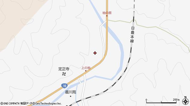 大分県佐伯市直川大字仁田原4183周辺の地図