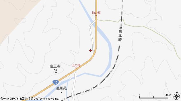 大分県佐伯市直川大字仁田原4261周辺の地図