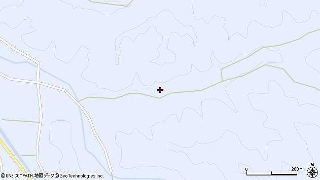 大分県佐伯市直川大字赤木2773周辺の地図