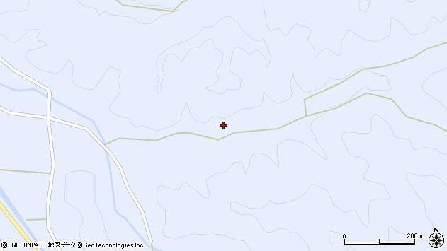 大分県佐伯市直川大字赤木2777周辺の地図