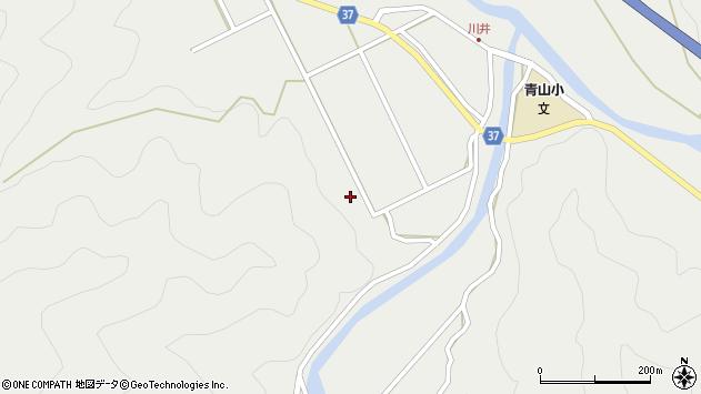 大分県佐伯市青山5632周辺の地図