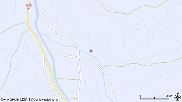 大分県佐伯市直川大字赤木2829周辺の地図