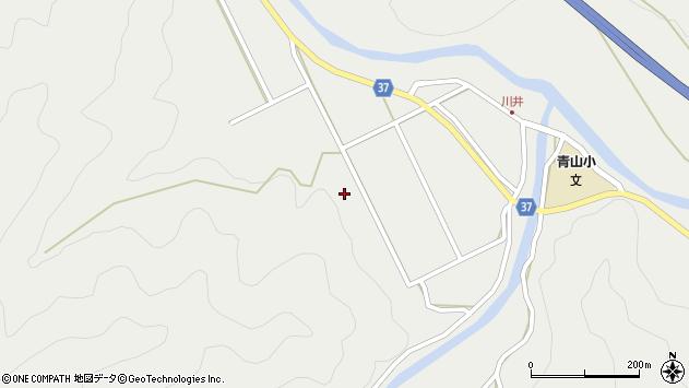 大分県佐伯市青山5612周辺の地図