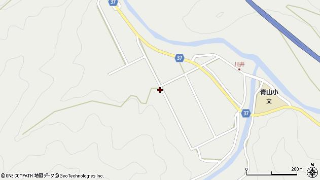 大分県佐伯市青山5607周辺の地図