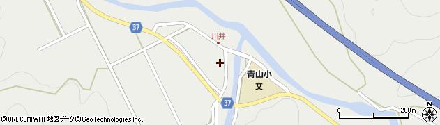 大分県佐伯市青山5402周辺の地図