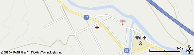 大分県佐伯市青山大通区周辺の地図