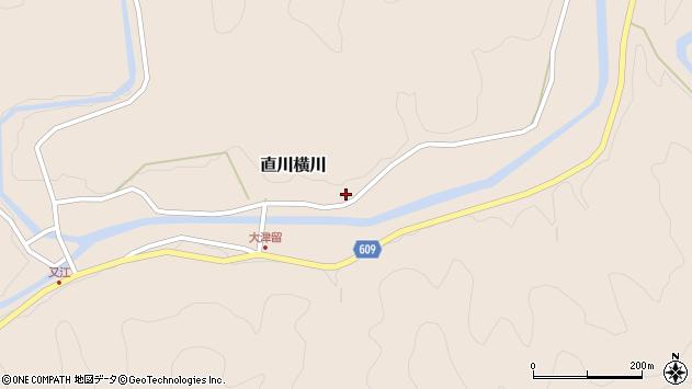 大分県佐伯市直川大字横川896周辺の地図