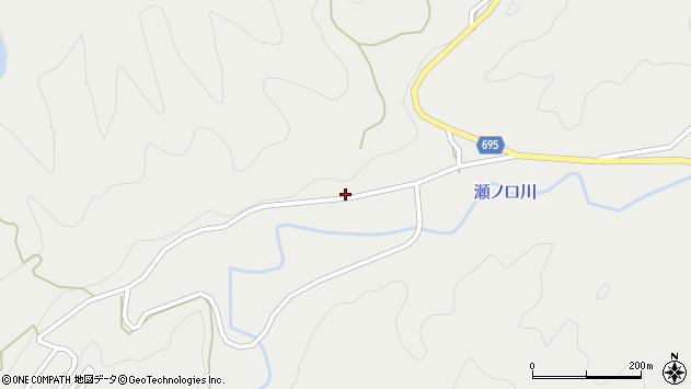 大分県竹田市九重野4146周辺の地図