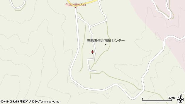 大分県佐伯市米水津大字色利浦1587周辺の地図