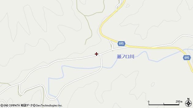 大分県竹田市九重野4104周辺の地図