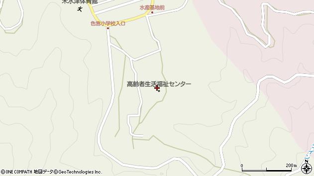 大分県佐伯市米水津大字色利浦1728周辺の地図