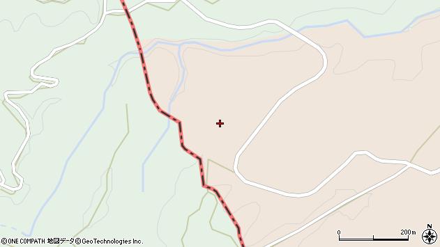 大分県竹田市荻町陽目656周辺の地図