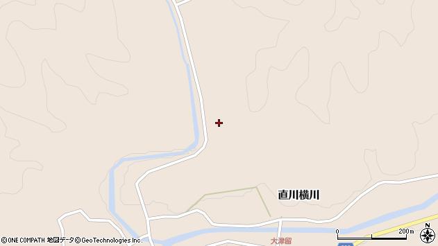 大分県佐伯市直川大字横川1150周辺の地図
