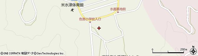 大分県佐伯市米水津大字色利浦1537周辺の地図