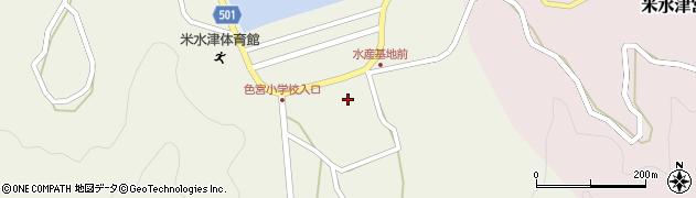 大分県佐伯市米水津大字色利浦関網周辺の地図
