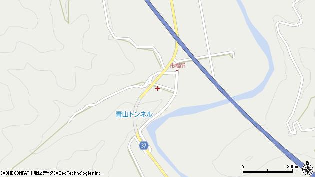 大分県佐伯市青山6717周辺の地図