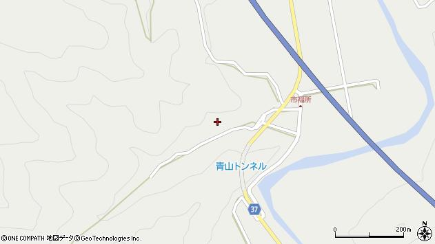 大分県佐伯市青山6729周辺の地図